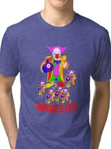 CORPORATE CULTURE CLOWNTOWN 101 Tri-blend T-Shirt