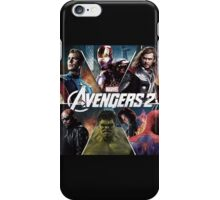the avengers age of ultron iPhone Case/Skin