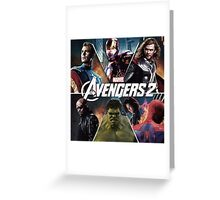 the avengers age of ultron Greeting Card