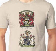 A Complete Guide to Heraldry - Plate III - Arms of the Duke of Argyle - Arms of Sir William Gordon Cumming, BT Unisex T-Shirt