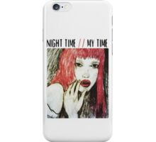 night time, my time. iPhone Case/Skin