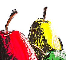 Pears by Martulia