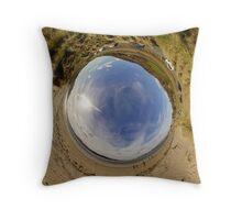 Lisfannon Beach, Fahan, County Donegal - Sky In Throw Pillow