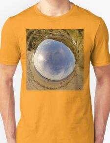 Lisfannon Beach, Fahan, County Donegal - Sky In Unisex T-Shirt