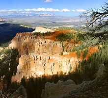 Late Afternoon Light, Aqua Canyon  by Stephen Vecchiotti