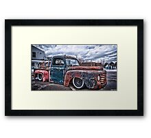 Relic Rides Low Framed Print