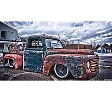 Relic Rides Low Photographic Print