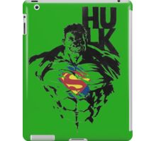 hulk is superman  iPad Case/Skin