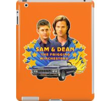 Sam & Dean Vintage Transfer iPad Case/Skin