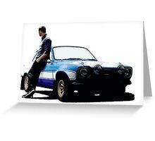 Paul Walker 1 Greeting Card
