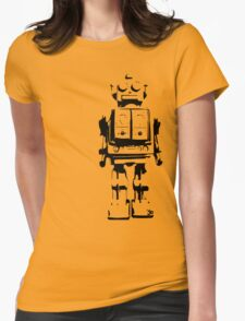 T i n M a n Womens Fitted T-Shirt