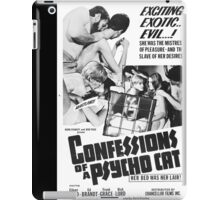 Confessions of a Psycho Cat iPad Case/Skin