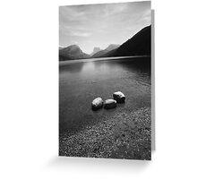 Green Lake Wyoming Greeting Card