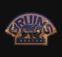 Boston Bruins Skyline by ColoradoHughes