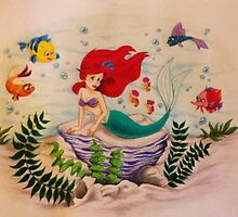Little Mermaid Big Dreams by noellelucia713