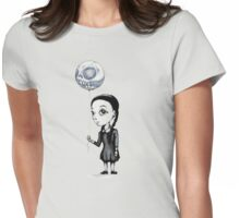 Wednesday Balloon Womens Fitted T-Shirt
