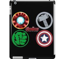 the avengers logo super hero iPad Case/Skin