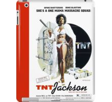 TNT Jackson (Red) iPad Case/Skin