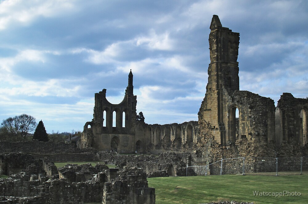 Byland Abbey by WatscapePhoto