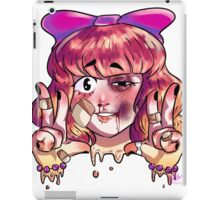 2 Cute to Live 2 Tough to Die! (no text) iPad Case/Skin