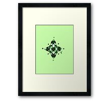 Compass (Green) Framed Print