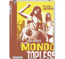 Mondo Topless Alt. iPad Case/Skin