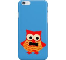 Owl Boy with Bowtie iPhone Case/Skin