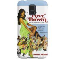 Foxy Brown (Blue) Samsung Galaxy Case/Skin