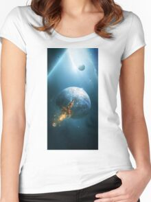 Beyond the Stars Women's Fitted Scoop T-Shirt