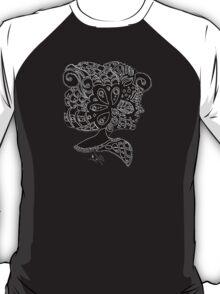 The Woman (White on Black) T-Shirt