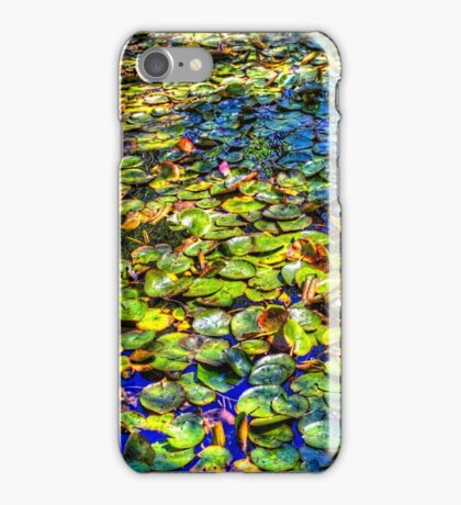 Lily Pond at Spur Cross Ranch iPhone Case/Skin