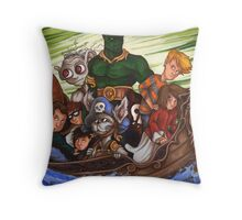 """Forts"" Characters 2 Throw Pillow"