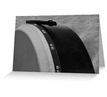 Bodhran  Greeting Card