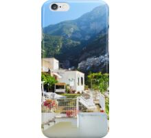 Terrace in Positano iPhone Case/Skin
