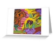 Ms Monarch Greeting Card