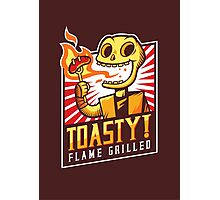 Toasty Grill Photographic Print
