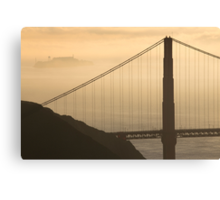 Golden San Francisco Morning Canvas Print