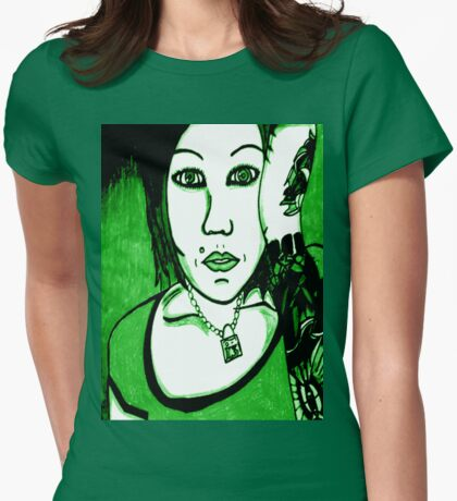 Cindy Frey 4 Womens Fitted T-Shirt