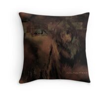 Medicine Woman of the Arts Throw Pillow