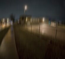 Midland Road. Night by Alexander Stepanov