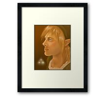 Link Legend of Zelda Framed Print