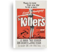The Killers (Red) Canvas Print