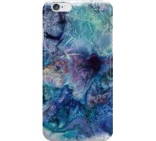 Jack Frost's Scribbles 1 (with frame) iPhone Case/Skin