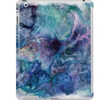 Jack Frost's Scribbles 1 (with frame) iPad Case/Skin