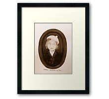 Mrs Malachi Framed Print