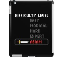 Difficulty Level: Asian iPad Case/Skin