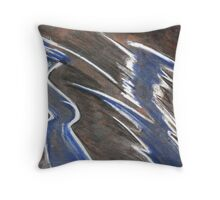 2 Soul Entities Interacting Throw Pillow