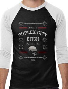 Suplex City, Bitch Men's Baseball ¾ T-Shirt
