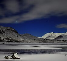 Venus and Blackmount by Alexander Mcrobbie-Munro