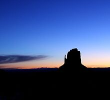 Sunrise at Monument Valley by Writhe